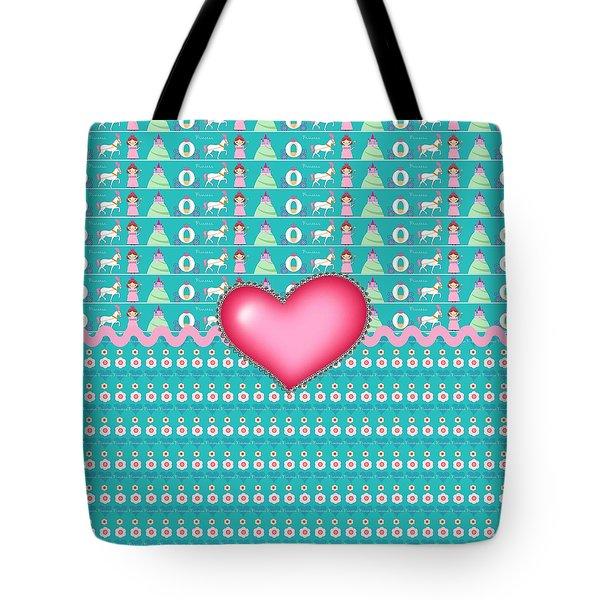 Princess Tote Bag by Debra  Miller
