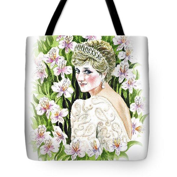 Princess Dianna Tote Bag by Irina Sztukowski