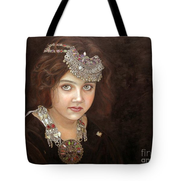 Princess Of The East Tote Bag by Enzie Shahmiri