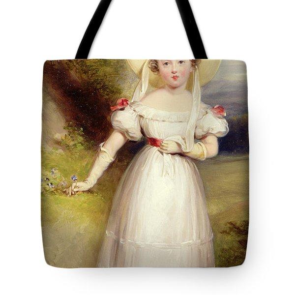 Princess Victoria Tote Bag by Stephen Smith