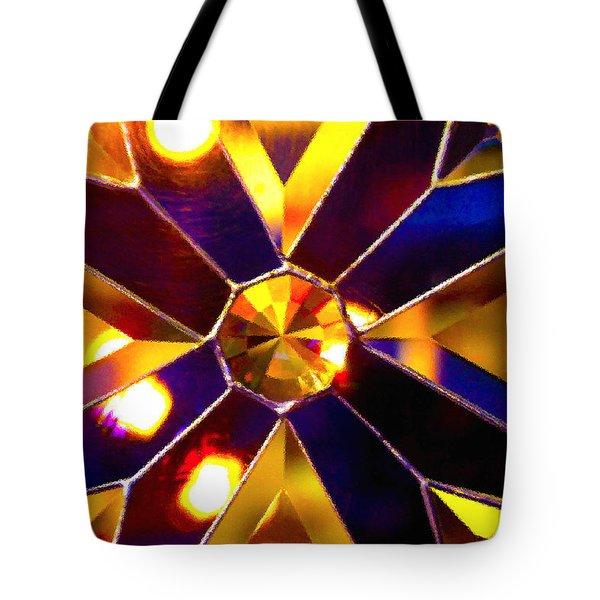 Prism Glass Spectrum Tote Bag by Karon Melillo DeVega