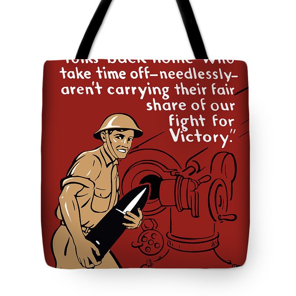 Private Tom Tote Bag by War Is Hell Store