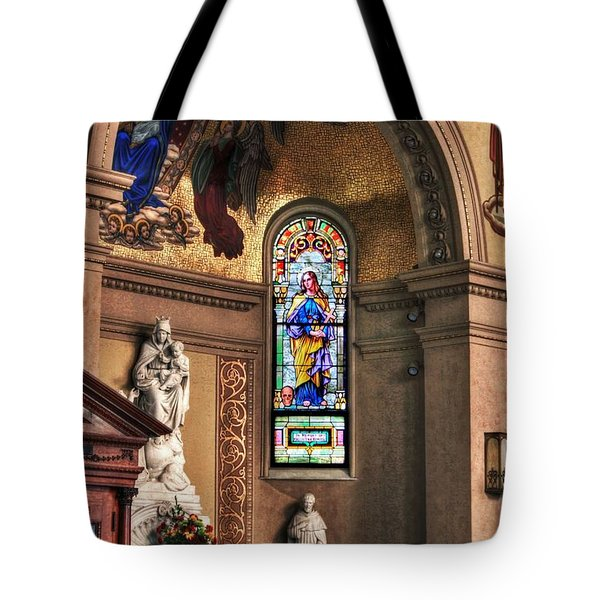 Projections Of Faith Tote Bag by Gary Yost