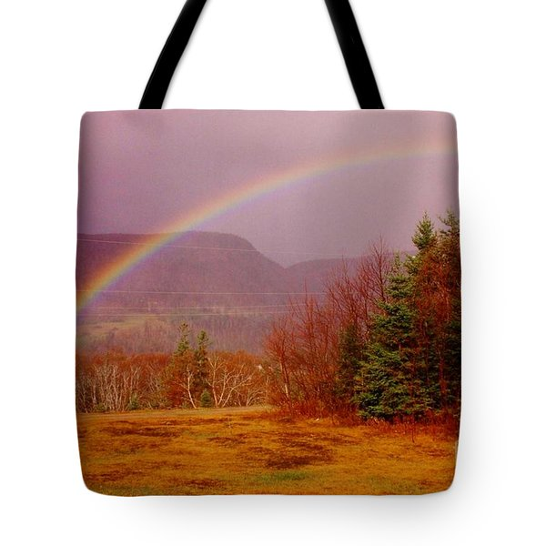 Promise And Hope Cape Breton Tote Bag by John Malone
