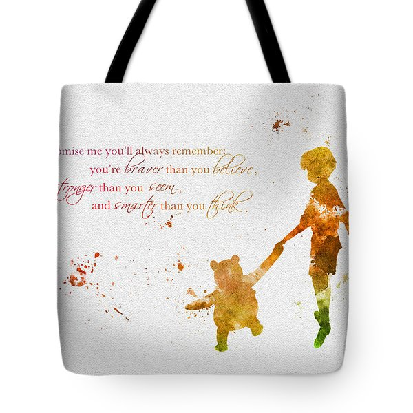 Promise Me You'll Always Remember Tote Bag by Rebecca Jenkins