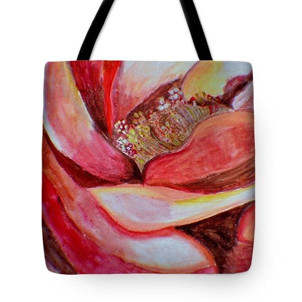 Promise Of Love Tote Bag by Sonali Gangane