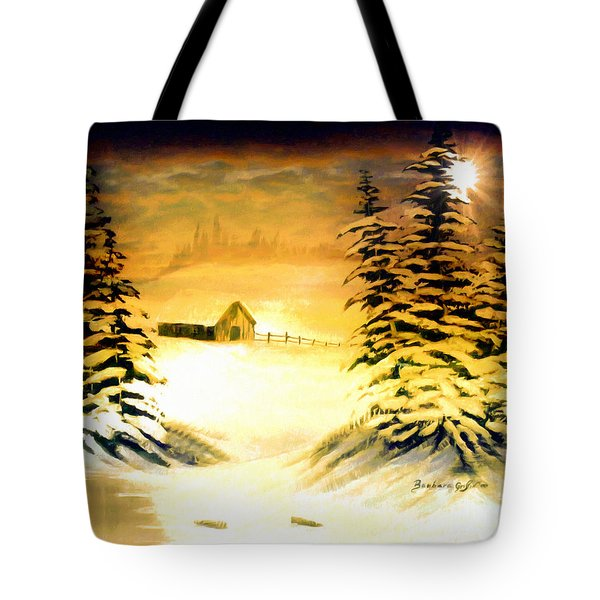 Promises Of A Brighter Day Tote Bag by Barbara Griffin
