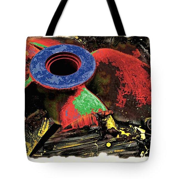 Propellor Tote Bag by Mauro Celotti