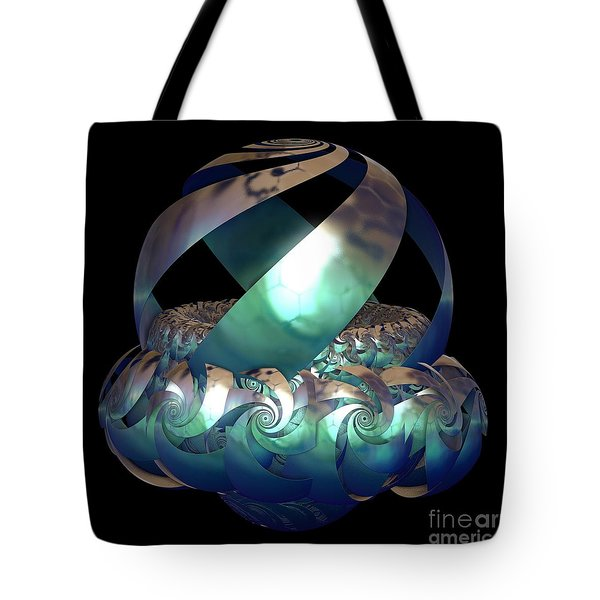 Protected Nest Amongst Waves Tote Bag by Sara  Raber