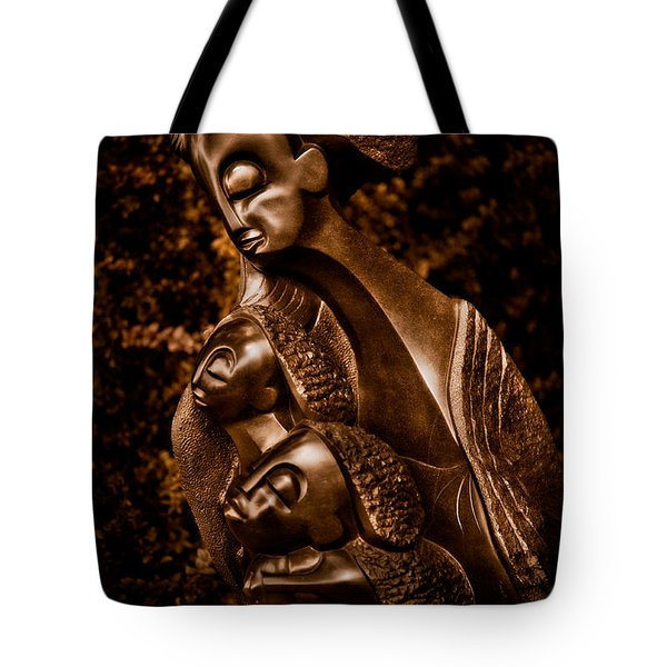 Protecting The Future Of My Children Tote Bag by Venetta Archer