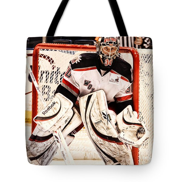 Protecting The Net Tote Bag by Karol Livote