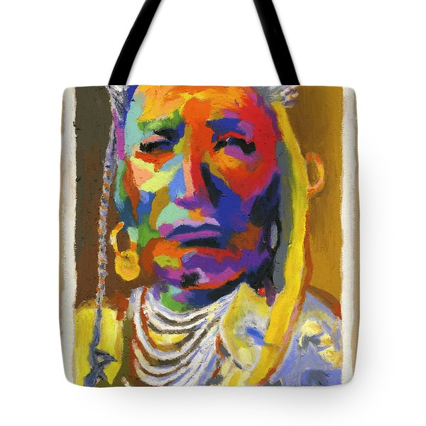 Proud Native American Tote Bag by Stephen Anderson
