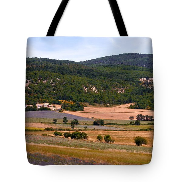 Provence Landscape Tote Bag by Bob Phillips