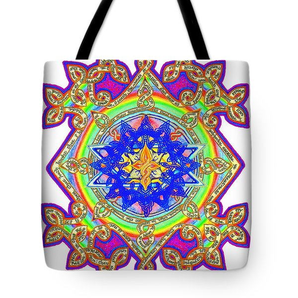 Psalm Of Moses Tote Bag by Hidden  Mountain