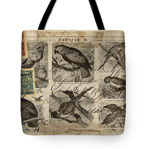 Psittacus Tote Bag by Carol Leigh