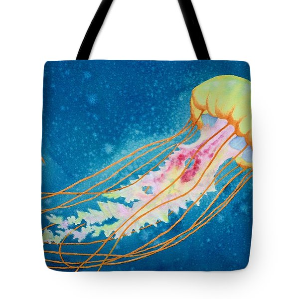 Psychadelic Jelly Tote Bag by Jeff Lucas