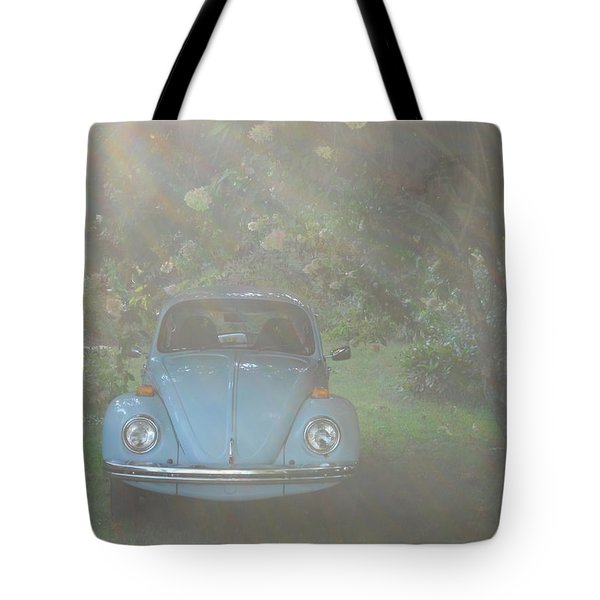 Psychedelic Bug Tote Bag by Diannah Lynch