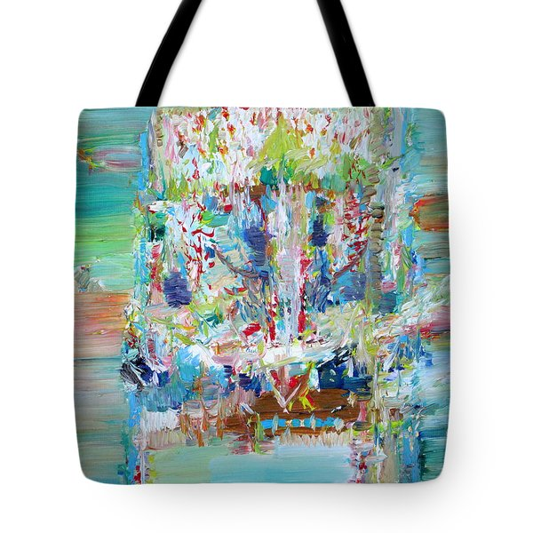 PSYCHEDELIC OBJECT Tote Bag by Fabrizio Cassetta