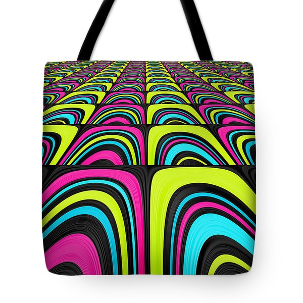 Psychel - 003 Tote Bag by Variance Collections