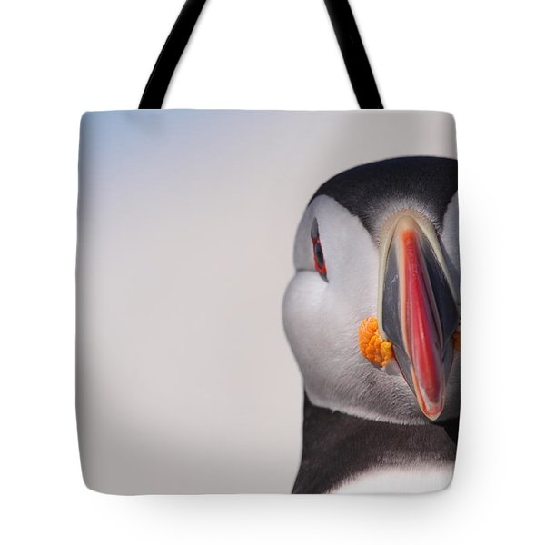 Puffin Mug Shot Tote Bag by Bruce J Robinson