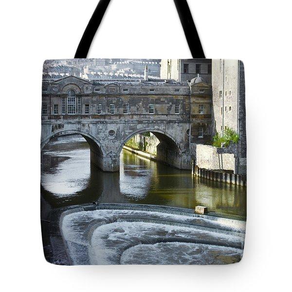 Pulleney Bridge Tote Bag by Bob Phillips