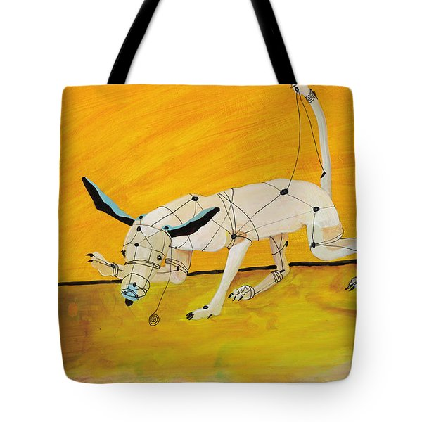 Pulling My Own Strings Tote Bag by Pat Saunders-White