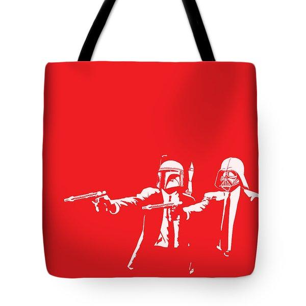 Pulp Wars Tote Bag by Patrick Charbonneau