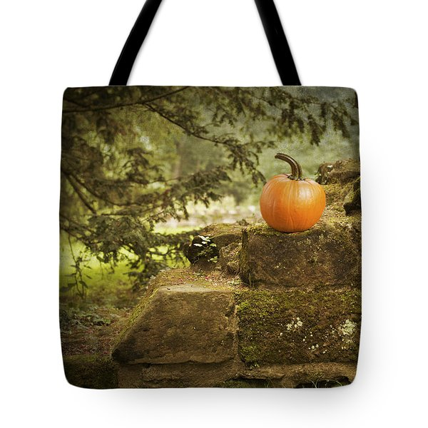 Pumpkin Tote Bag by Amanda And Christopher Elwell