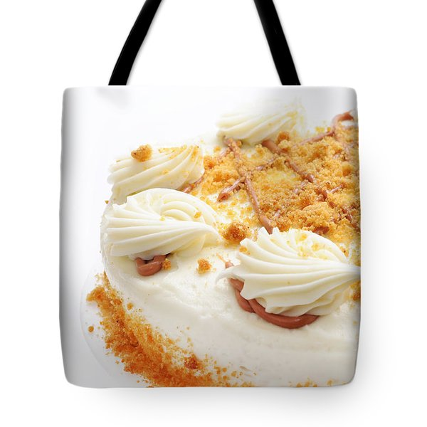 Pumpkin Spice Drizzle Cake 2 Tote Bag by Andee Design