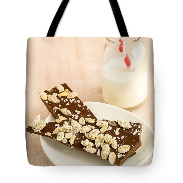 Pumpkinseed and Burnt Butter Toffee Tote Bag by Edward Fielding