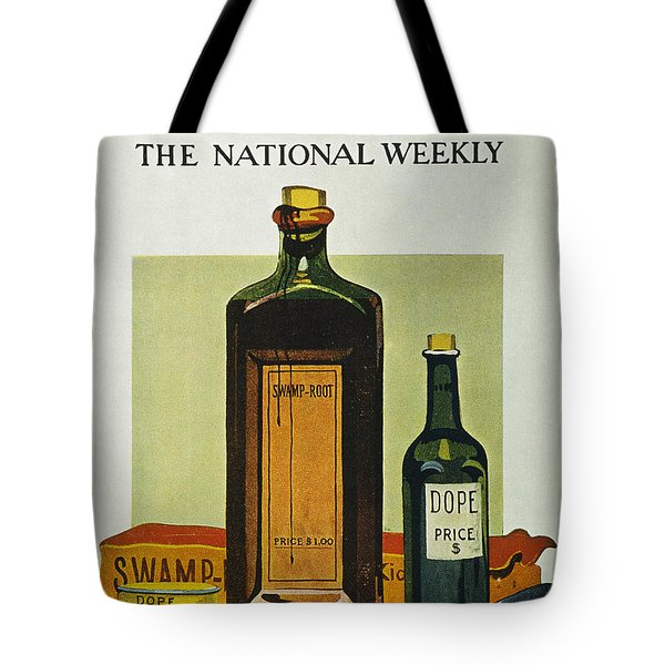 Pure Food Act, 1912 Tote Bag by Granger