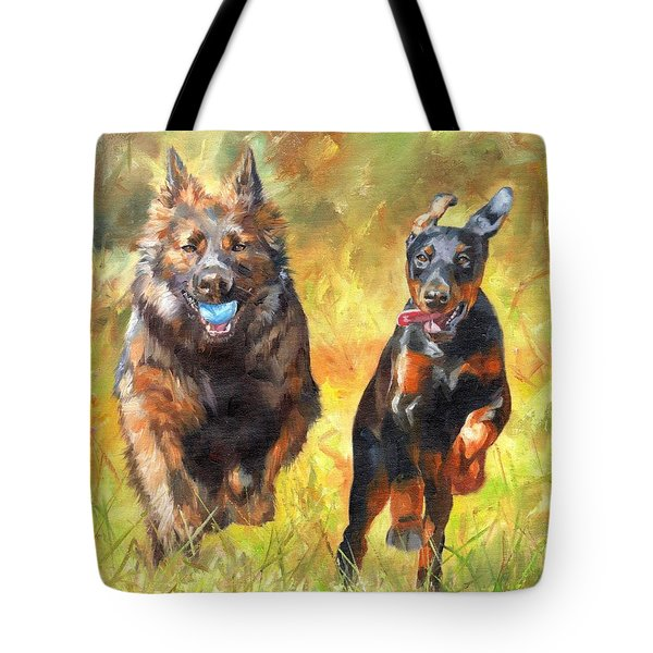 Pure Joy Tote Bag by David Stribbling