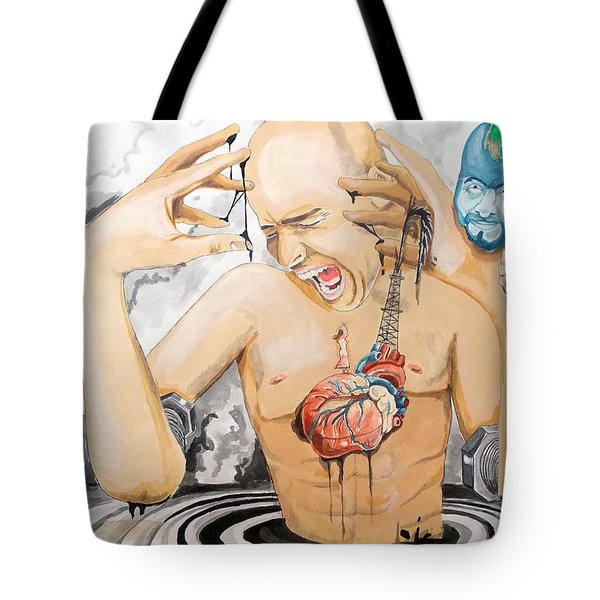 PURGE Tote Bag by Lazaro Hurtado