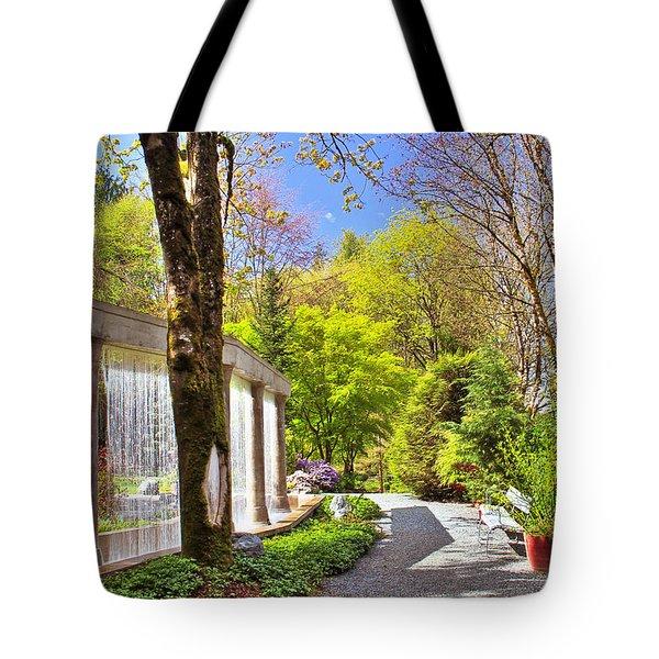 Purifying Walk Tote Bag by Eti Reid