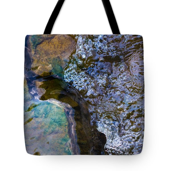 Purl Of A Brook 1 - Featured 3 Tote Bag by Alexander Senin