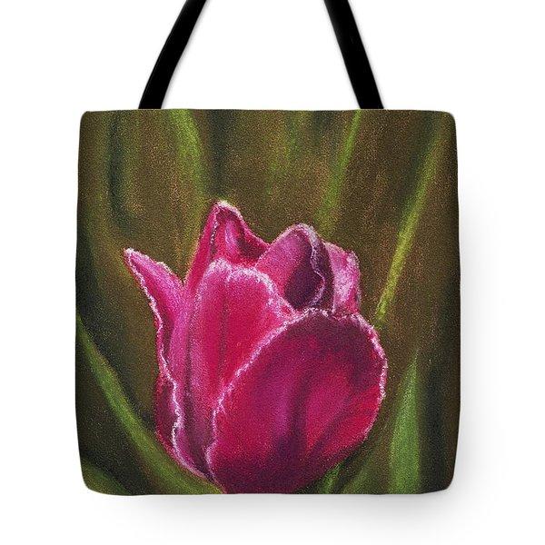 Purple Beauty Tote Bag by Anastasiya Malakhova