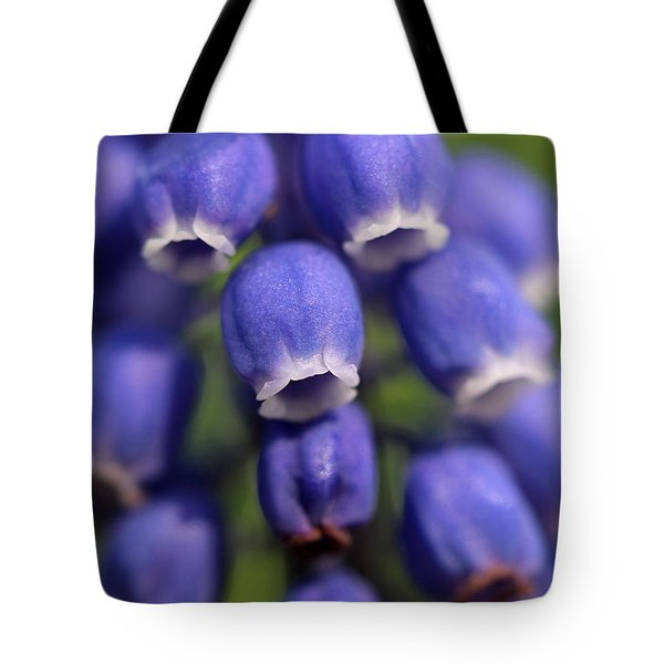 Purple Bells Tote Bag by Juergen Roth