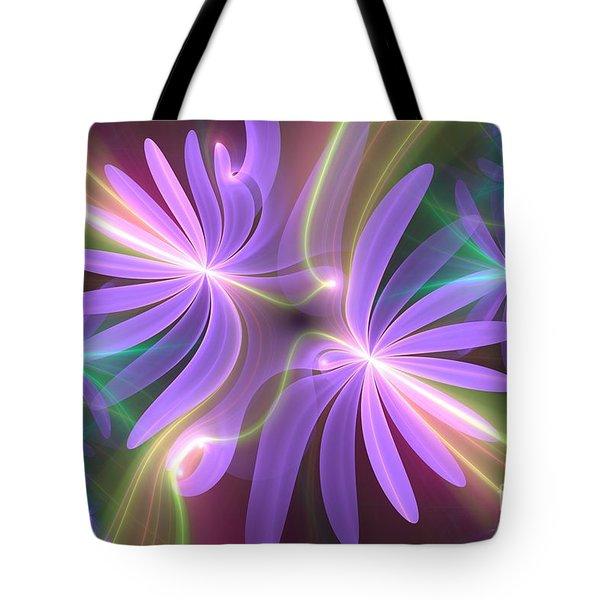 Purple Dream Tote Bag by Svetlana Nikolova