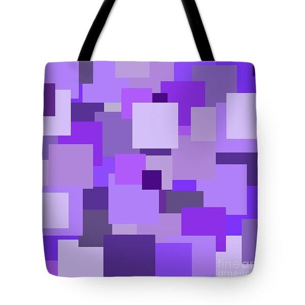 Purple Extravaganza Tote Bag by Mariola Bitner