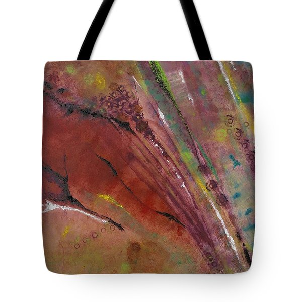 Purple Haze Tote Bag by Denise Peat