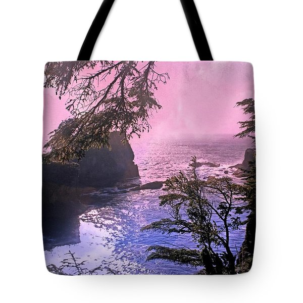 Purple Haze Tote Bag by Marty Koch