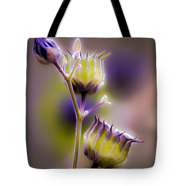 Purple Haze Tote Bag by Optical Playground By MP Ray