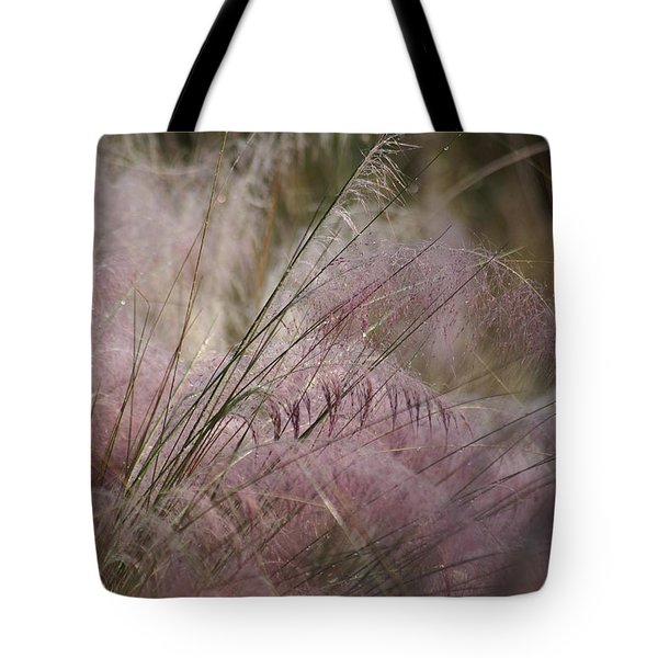 Purple In Bloom Tote Bag by Patricia Twardzik