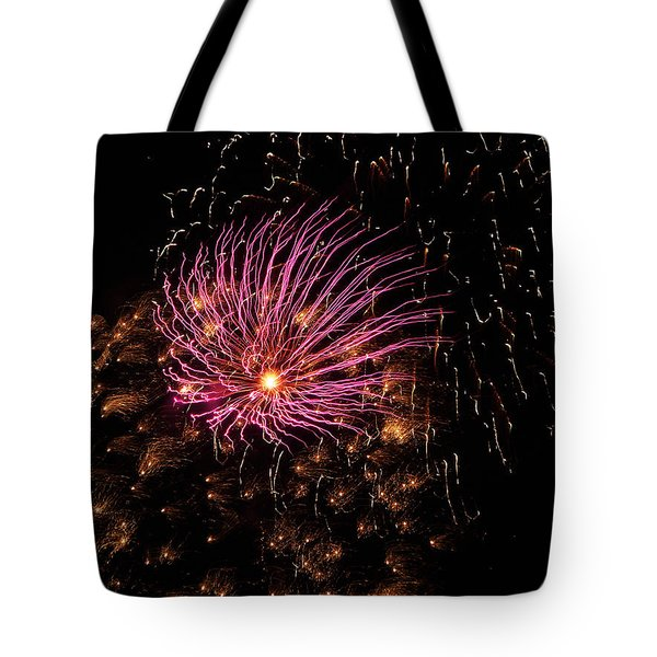 Purple Orbit Tote Bag by Aimee L Maher Photography and Art Visit ALMGallerydotcom