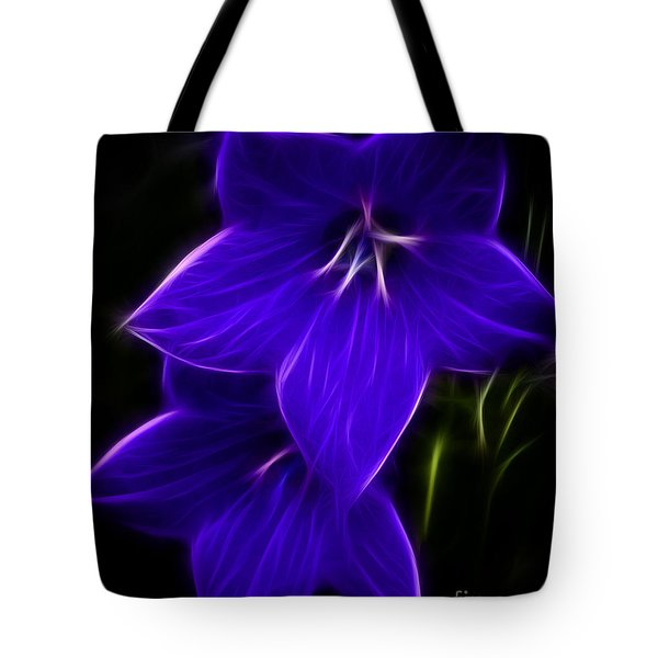 Purple Passion Tote Bag by Joann Copeland-Paul