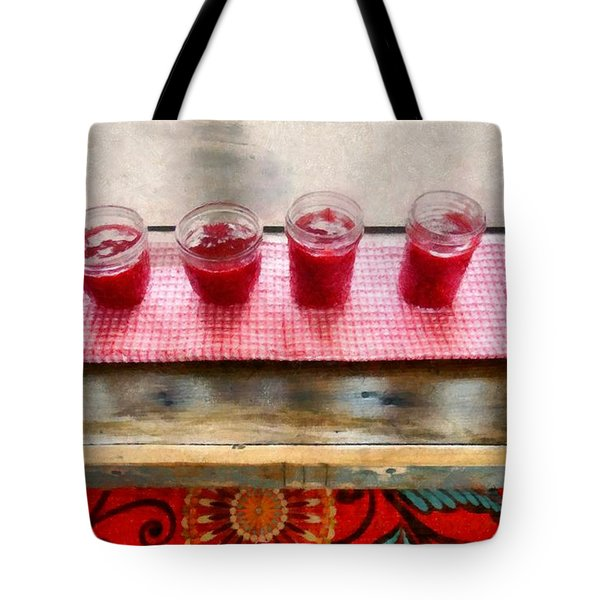 Putting Up Preserves Tote Bag by Michelle Calkins