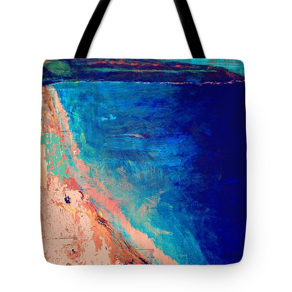 Pv Abstract Tote Bag by Jamie Frier