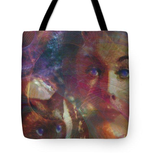 Pyewacket And Gillian Tote Bag by John Robert Beck