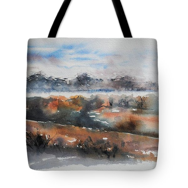 Pyrenees Tote Bag by Francoise Dugourd-Caput