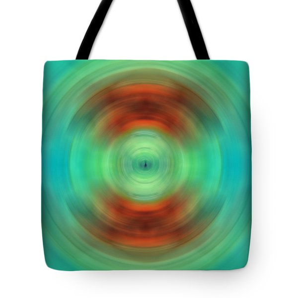 Qi - Energy Art By Sharon Cummings Tote Bag by Sharon Cummings